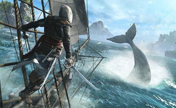 Assassins Creed IV Black Flag ballena